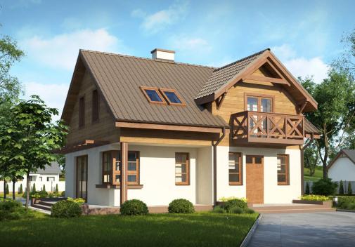 Проект дома Z33 BG