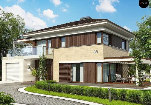 Проект дома Zx63 C S