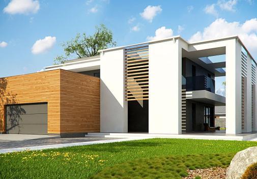 Проект дома Zx75