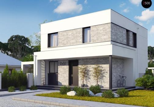 Проект дома Zx92 pk