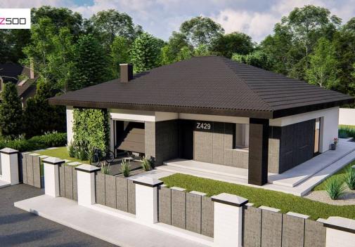 Проект дома Z429