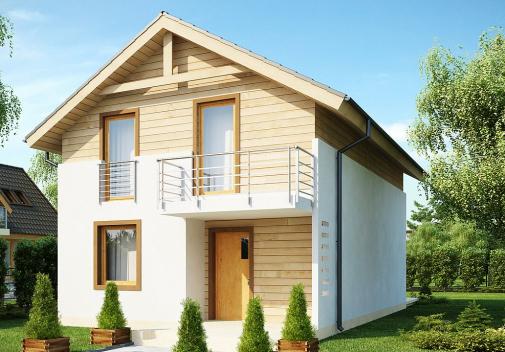 Проект дома Z38