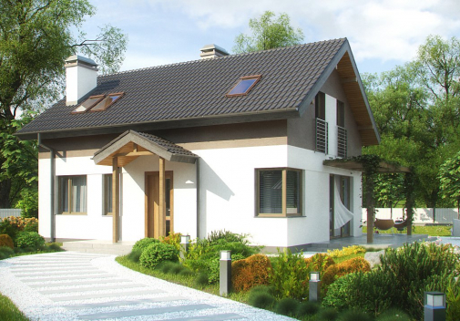 Проект дома Z233