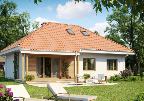 Проект дома Z169