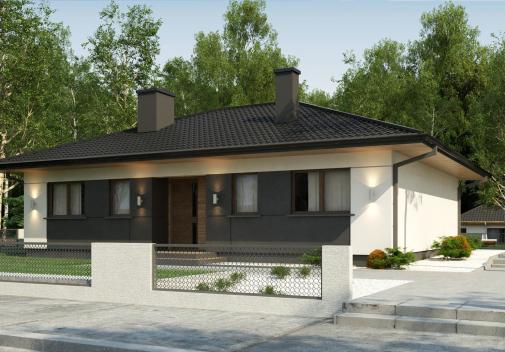 Проект дома для одной семьи Z368 D S