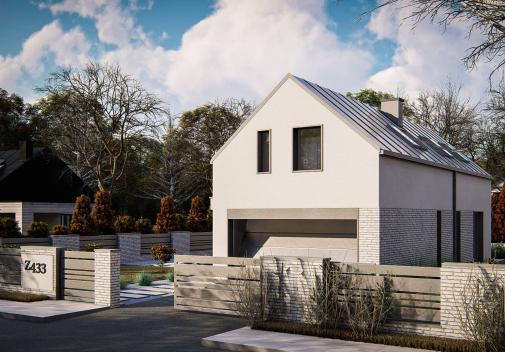 Проект дома Z433