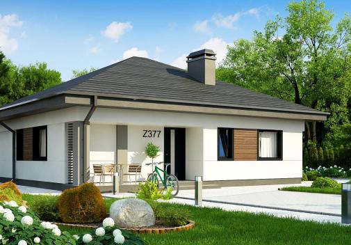 Проект дома Z377