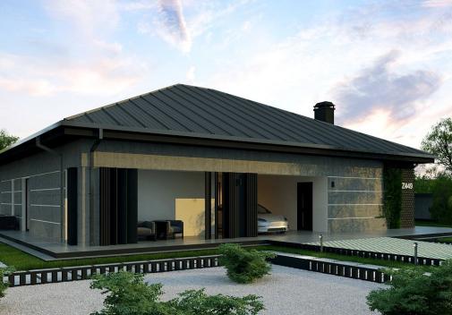 Проект дома Z449