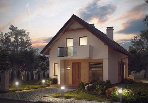 Проект дома Z177