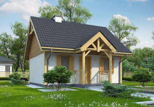 Проект дома Z352