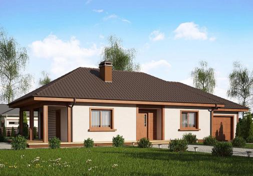Проект дома Z55 GP
