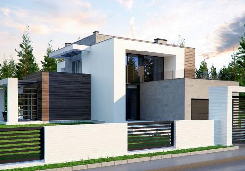 Проект дома Zx125