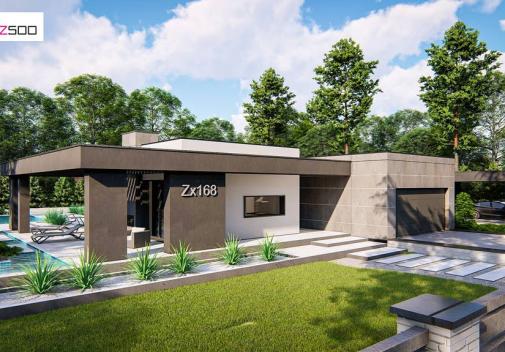 Проект дома Zx168