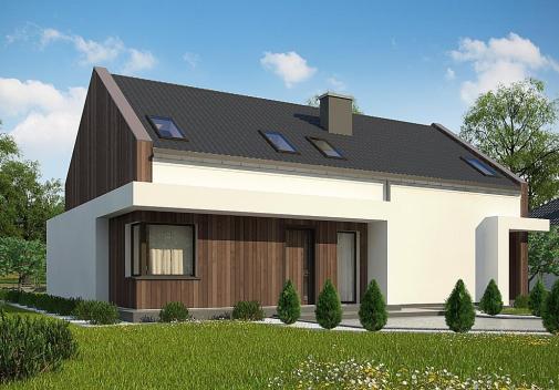 Проект дома Z346