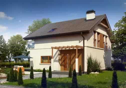 Проекты компактных домов до 150 м2 Z248