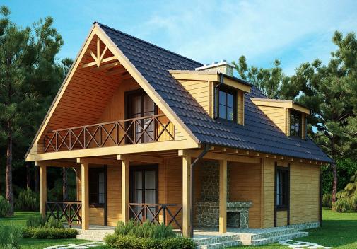 Проект дома Z30