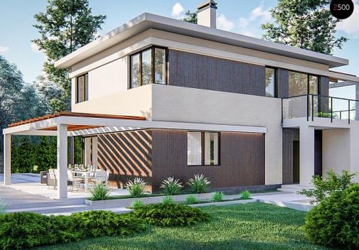 Проект дома Zz63 B