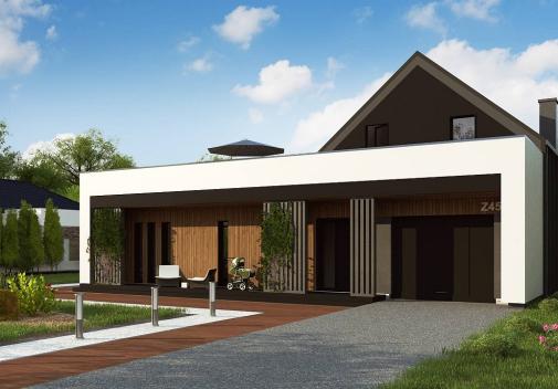 Проект дома Z453