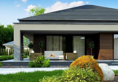 Проект дома Z377 B