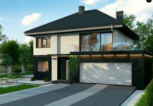 Проект дома Zx10 F