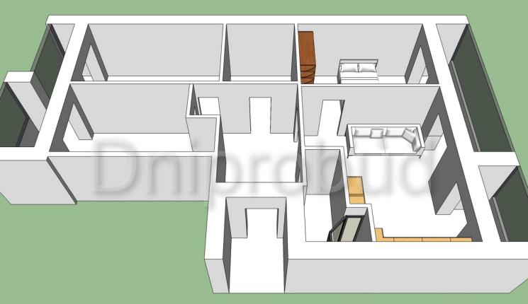 Квартира в районе ул. Рабочей