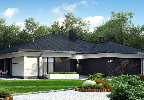 Проект дома Z378