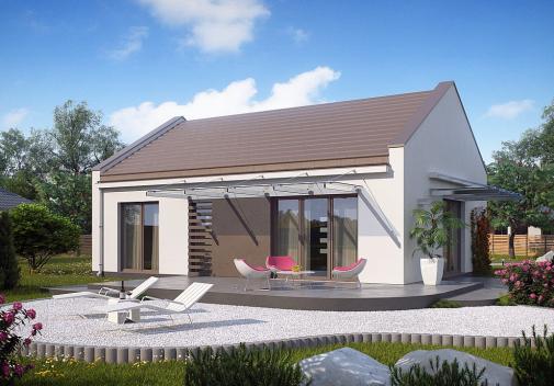 Проект дома Z252