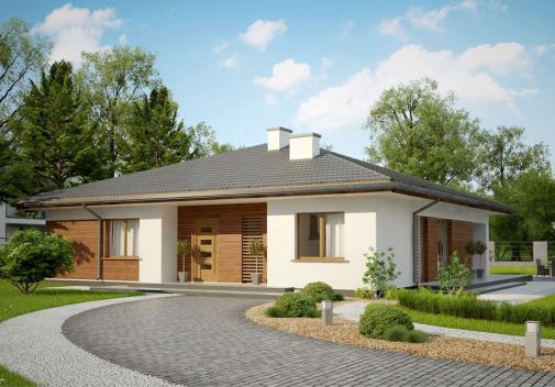 Проект дома Z321 S