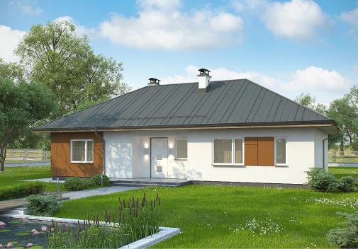 Проект дома Z307