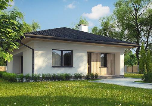 Проект дома Z354