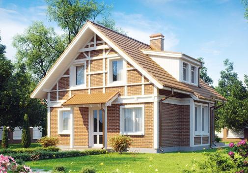 Проект дома Z44