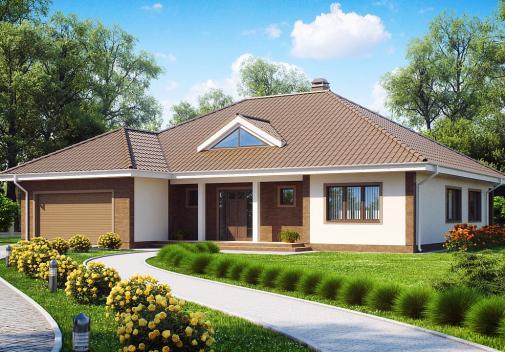 Проект дома Z26