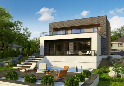 Проект дома Zx155
