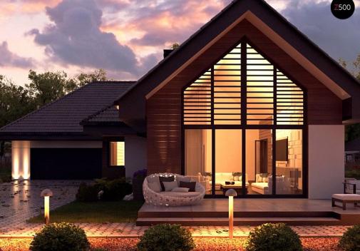 Проект дома Z402+