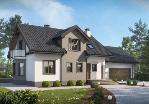Проект дома Z28 L GP2
