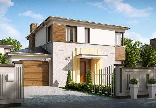 Проект дома Zx47