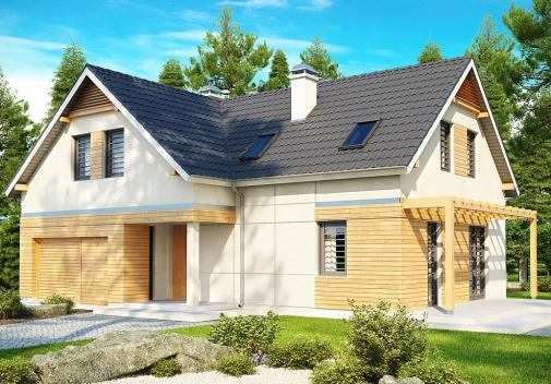 Проект дома Z125