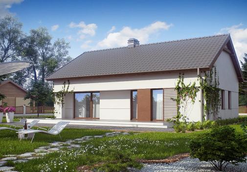 Проекты компактных домов до 150 м2 Z191