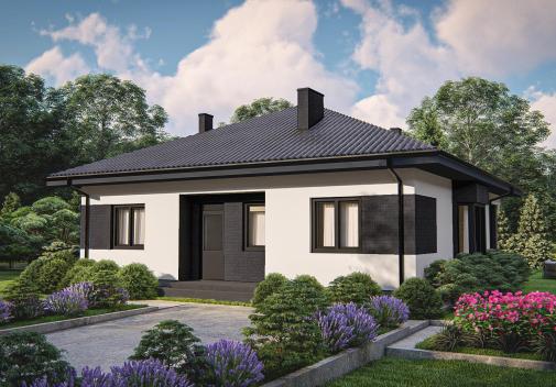 Проект дома для одной семьи Zz16