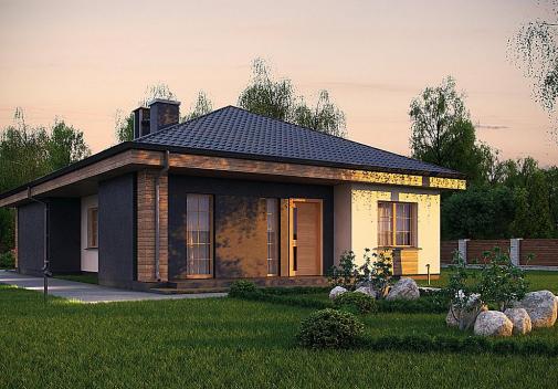 Проект дома Z348