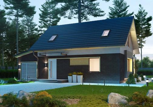 Проект дома Z227