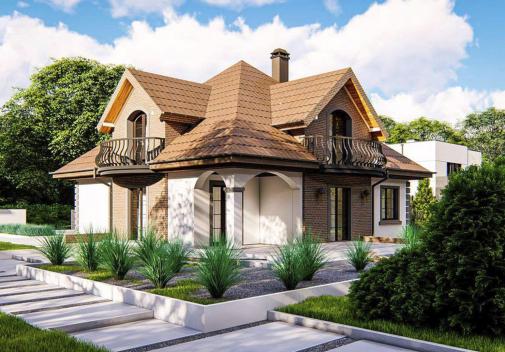 Проект дома Z18 kl+P