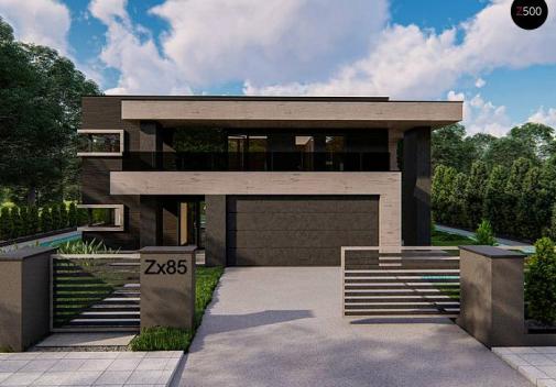Проект дома Zx85