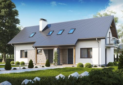 Проект дома Z184