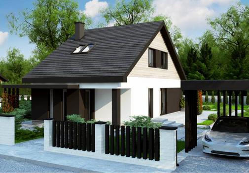 Проект дома Z468