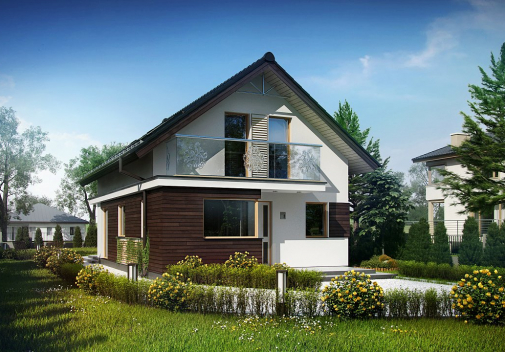Проект дома Z296