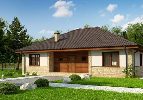 Проект дома Zz10