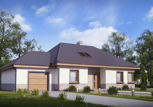 Проект дома Z84 GL