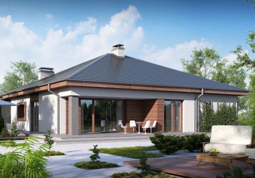 Проект дома Z52
