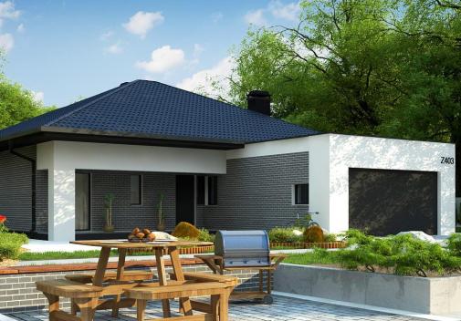 Проект дома Z403